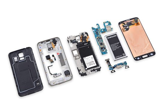 Samsung Galaxy S5 teardown door iFixit