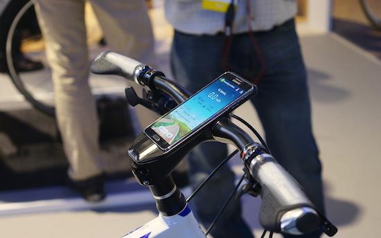 Samsung bouwt fiets die je Galaxy Note 3 oplaadt