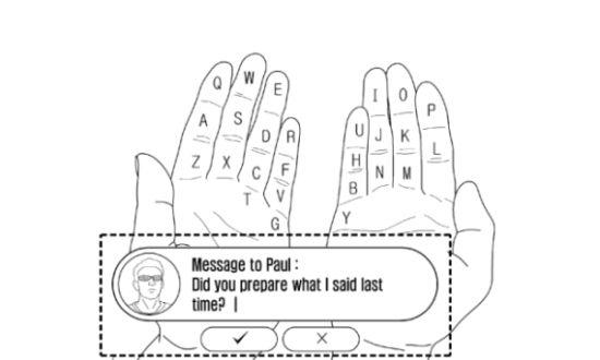 Samsung virtueel toetsenbord