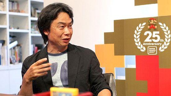 Mario-tekenaar wilde Manga tekenen