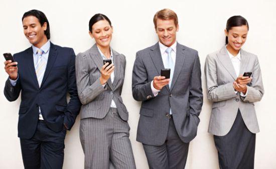 Smartphone-apps-werk