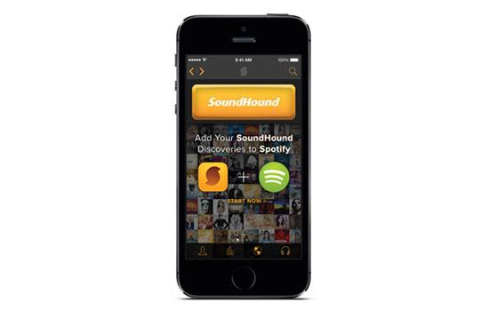Soundhound en Spotify