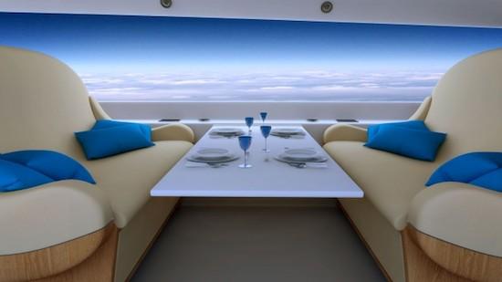 Supersonisch vliegtuig krijgt HD-schermen in plaats van ramen