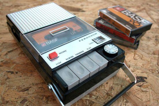 Spotify-Cassettespeler