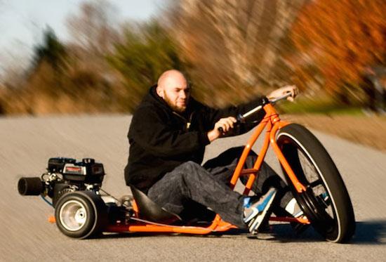 Big Wheel Drift Trike: ga als een malloot de hoek om