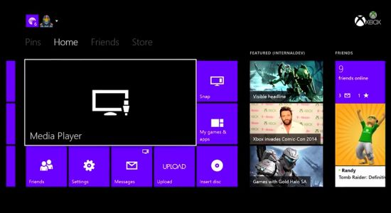 Media-player-Xbox-One