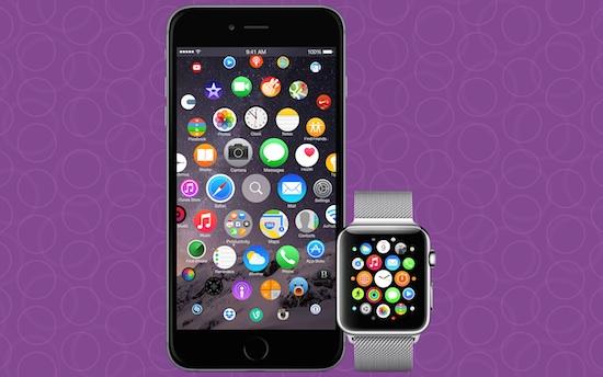 Zo ziet Watch OS eruit op een iPhone