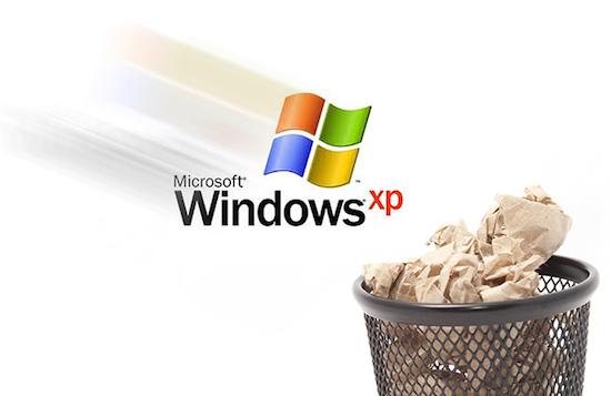 Vandaag sterft Windows XP