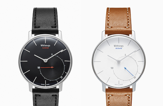Cool, een stappenteller in analoog horloge van Withings