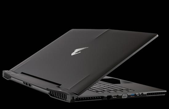 De Gigabyte Aorus game-laptop is ontzettend dun