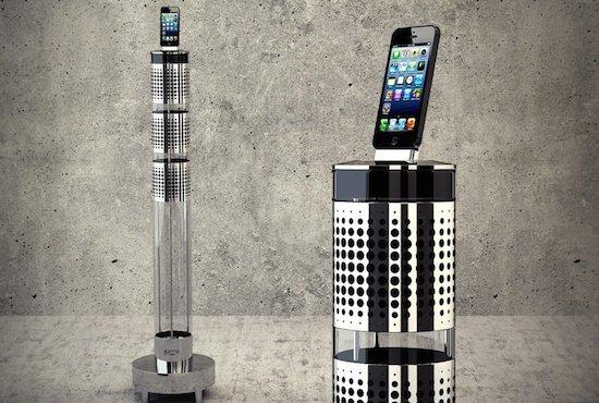 iPhone Dock/Speaker van AeroSystem