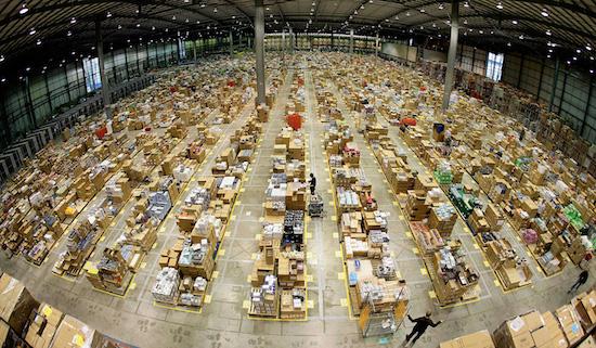 Amazon gaat bestellingen verstruen voordat ze zijn gekocht