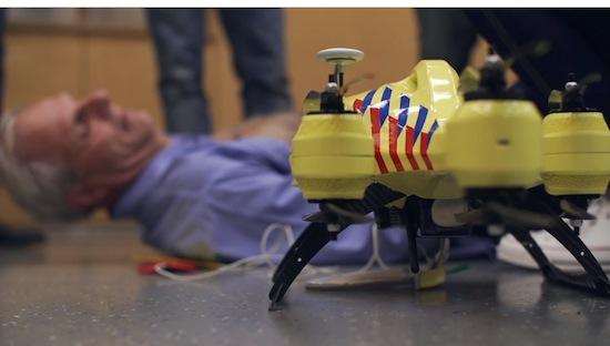 Nederlandse Ambulancedrone moet levens gaan redden