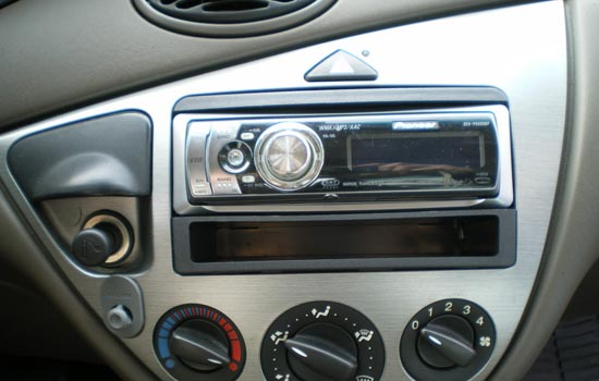Soms heb je een adapter nodig voor raar-gevormde radio's