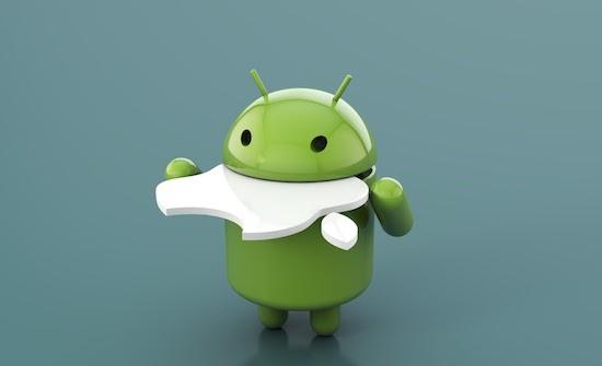 Het aandeel van Android is gegroeid naar 85%, iOS levert in
