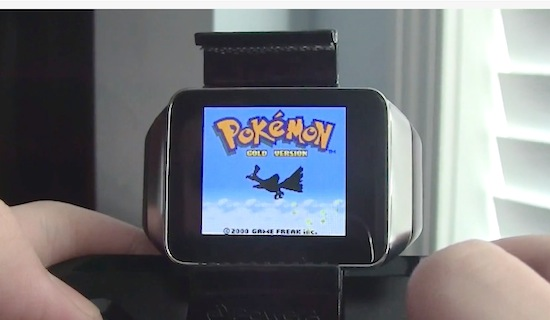 Je smartwatch in een Gameboy veranderen doe je zo [video]