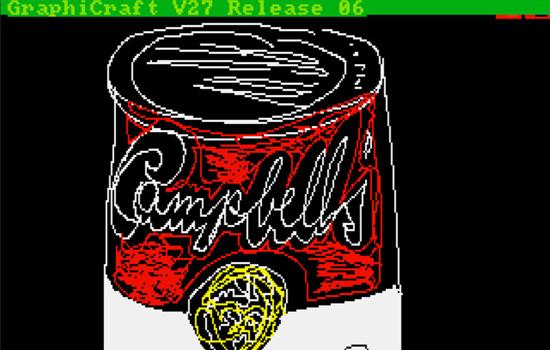 Andy Warhol kunst bleek nog op Amiga disk te staan