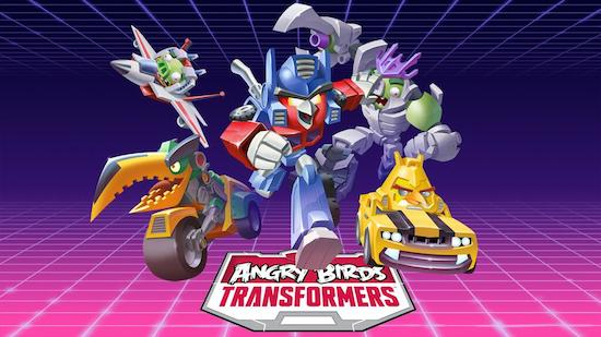 Angrybirds Transformers