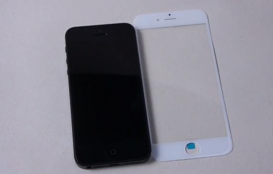 Video toont het nieuwe saffier glas van de iPhone 6