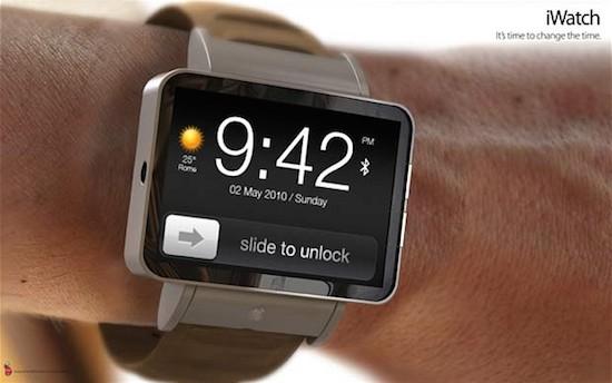 De iWatch van Apple wordt waarschijnlijk tegelijk met de iPhone 6 aangekondigd