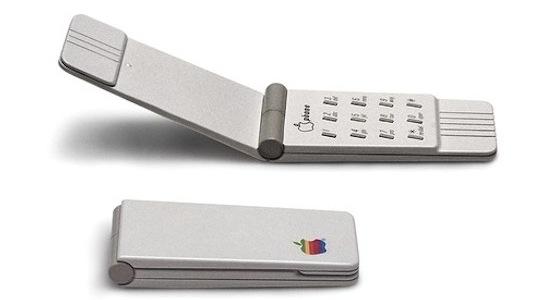 Een klaptelefoon van Apple
