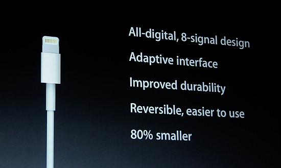 Apple Lightning plug