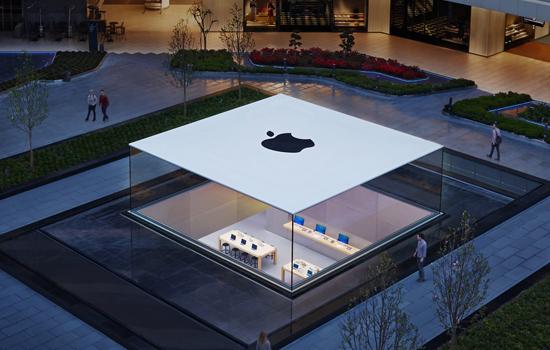 Nieuwe Apple Store in Istanbul is weer een kunstwerkje