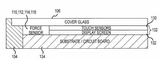 Apple touchsensor patent