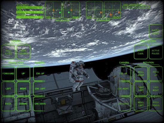 Astronaut-Spacewalk