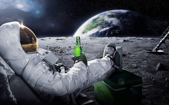 Astronaut-maanlanding