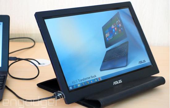 Asus presenteert 14 inch USB touchscreen