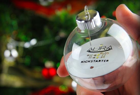 Aura draadloos verlichte kerstbal