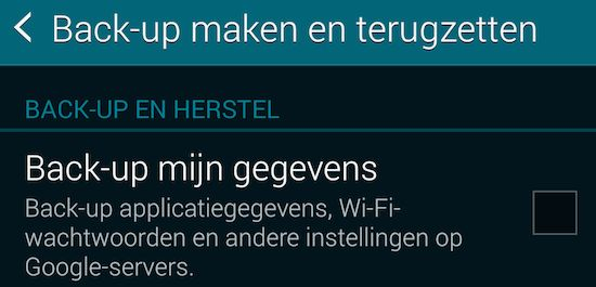 Android-telefoon wissen