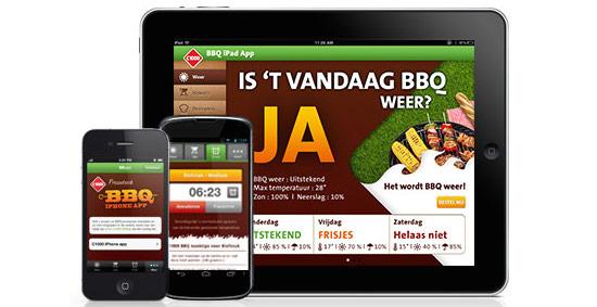 BBQ app van C1000
