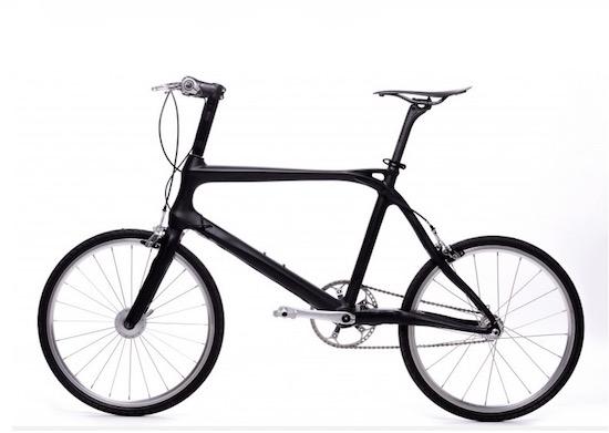 BiCi: de slimme fiets van koolstofvezel