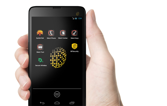 De Blackphone is gericht op privacy en beveiliging