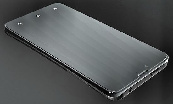 De Blackphone van het Amerikaanse Slient Circle, ontwikkeld in samenwerking met het Spaanse Geeksphone