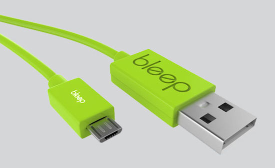 Bleep: een slim kabeltje dat als backup-service dient