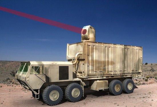 Deze dodelijke laser bedien je met een Xbox-controller