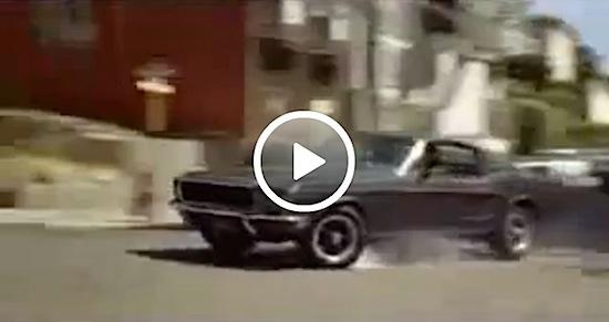 Video: Bullitt chase scene