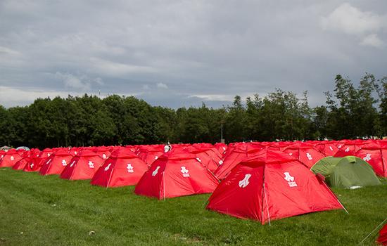 My Single Tent: tindr voor festivalgangers met een tentje