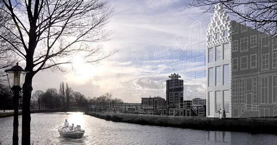 Canal House in Amsterdam