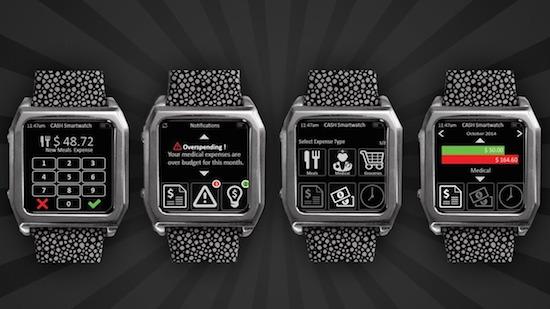 Deze smartwatch houdt bij hoeveel geld je uitgeeft