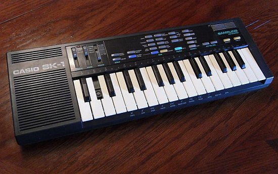 Casio SK-1 keyboard