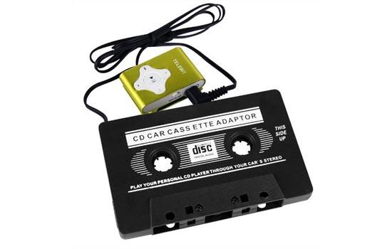 Met imitatie-iPod Shuffle