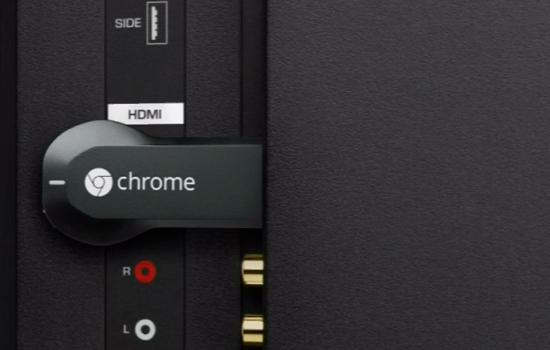 Chromecast maakt verbinding met ultrasoon geluid