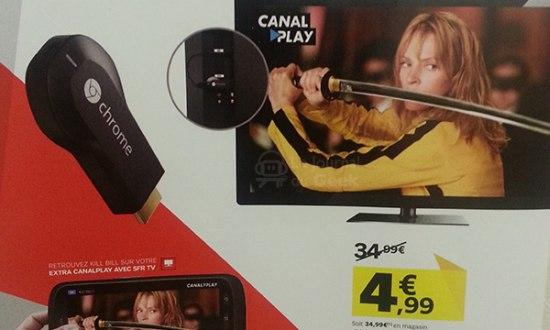 Franse provider stunt met Chromecast voor slechts € 4,99