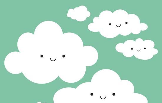 Allemaal blije wolkjes