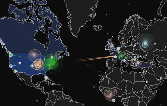 Cyberoorlog in beeld gebracht
