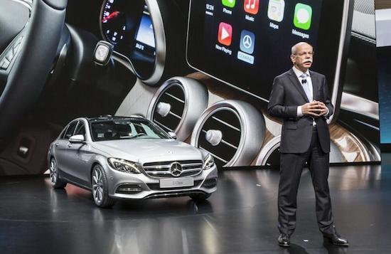 Daimler CEO Dieter Zietsche